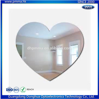 Customized Different Shapes Acrylic Mirror Wall Sticker