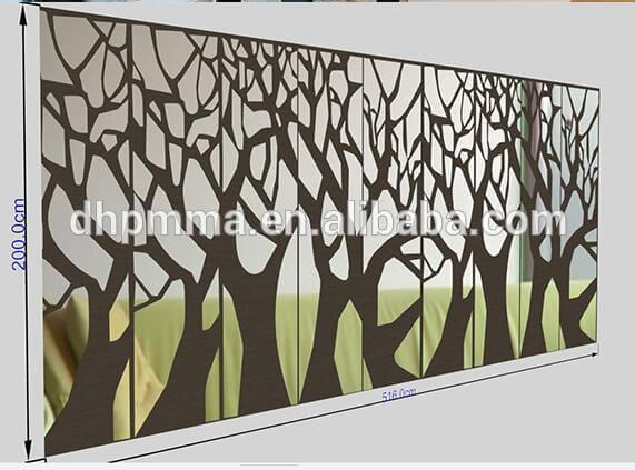 how to cut acrylic plexiglass plastic thin Mirror Sheet Home decoration