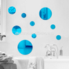 Simple Style DIY Acrylic Wall Mirror Stickers Home Decoration