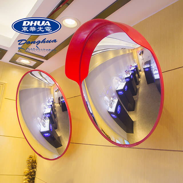 Security Reflective Acrylic Convex Mirror For Shopping Mall