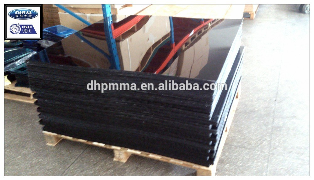 Extruded Black Acrylic Sheet 4fx8f, Colored PMMA Sheet from