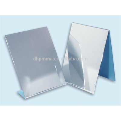 Acrylic Free-Standing and Double-Sided Self-Portrait Mirror,Acrylic makeup mirror