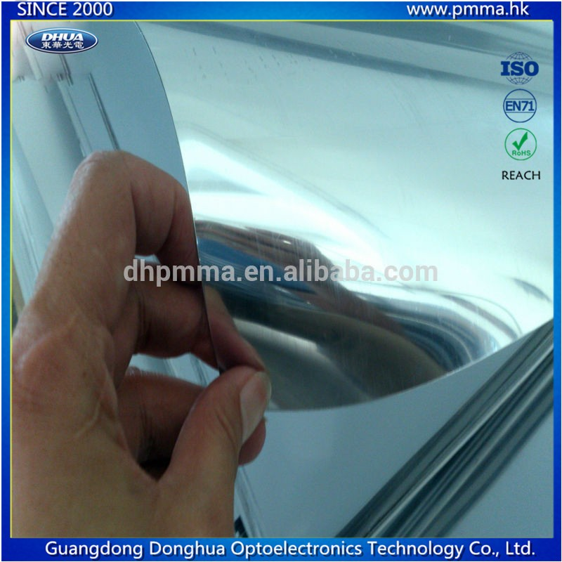 Flexible plastic silver Mirror film on roll