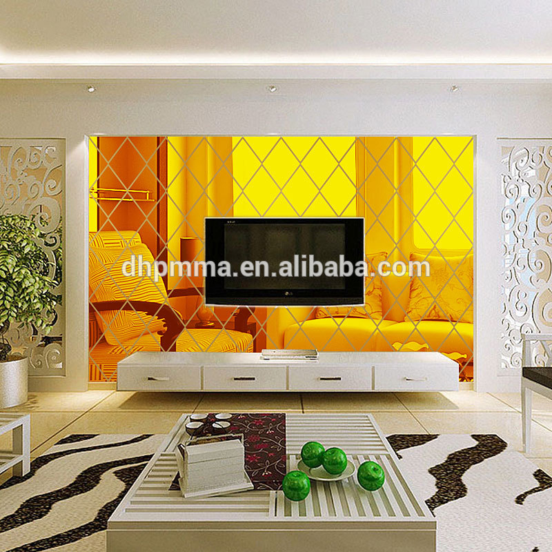 Acrylic Mirror 3D Wall Mirror Kids Room Art Living Room Mirror Sticker