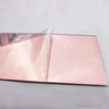 3.0mm 4*6'' Rose Gold Acrylic Mirror Sheet, Rose Gold Acrylic Mirror, Flexible Mirror Sheet