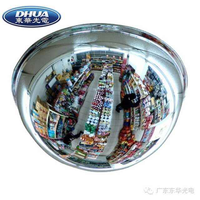 300mm Acrylic convex mirror, convex mirror without frame