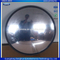 Blind spot eliminating convex mirror mirrored acrylic face