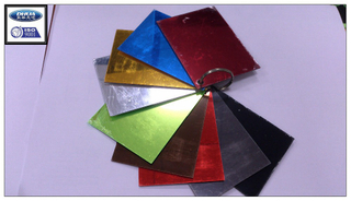 colored acrylic mirror sheet